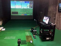 ゴルフクラブ科学研究所 性能分析ルーム