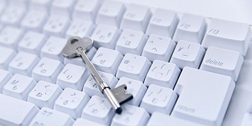 キーボードと鍵